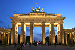 The Brandenburg Gate by Thomas Wolf