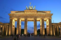 The Brandenburg Gate by Thomas Wolf