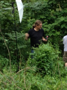 """Here we see Kyle in rare jungle footage, as he prepares for his leading role in """"Anacondonado IV."""""""