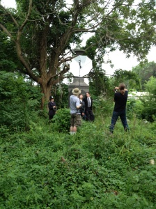Behind The Scenes shot of the shoot.