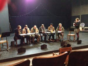 Table reading of Fox Haven, by Theatre Pro Rata at Theater Nimbus, Minneapolis, Minnesota
