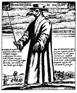 Plague Doctor, Rome, 1656