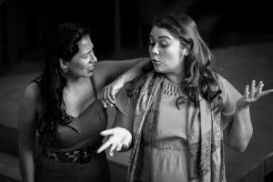 @Jules Dee Photography 2014. Jeanette Godoy and Katie Ventura in rehearsal.