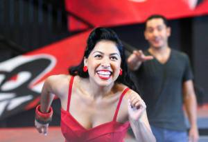 @Jules Dee Photography, 2014. Jeanette Godoy and Moises Rodriguez in rehearsal.