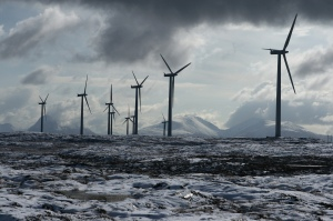 Smøla Wind Farm, Norway. Photo by Bjørn Luell.